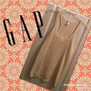 🔥FINAL SALE🔥 Gap ivory knitted tank